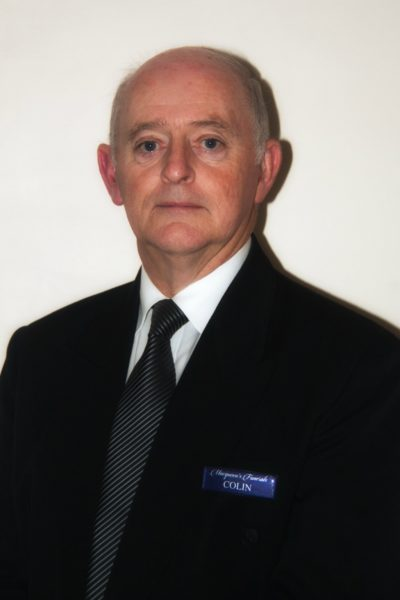 Terang & Camperdown funeral home staff, Colin Hayman